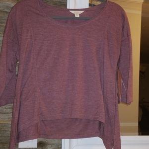 Flowy maroon shirt